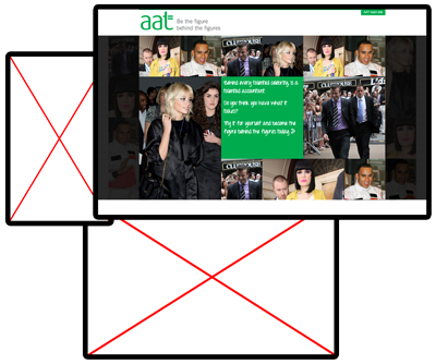 AAT online photobooth screen shot