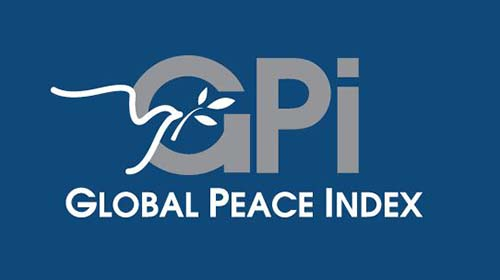 World map of Global Peace Index